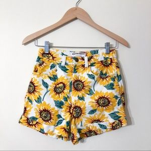 American Apparel AA Sunflower Shorts 26/27